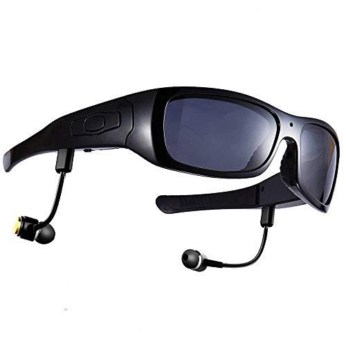 Sport, der die intelligente Kamera/Kamera-Brille HD HD1080P fährt, die Aufzeichnung Bluetooth-Kopfhörer fährt, der Lieder hört,Black+32GBmemorycard