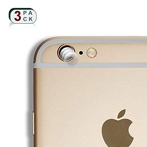 XCYYOO 3X Pieza Protector de Lente Cámara para iPhone 6 Plus Cámara...