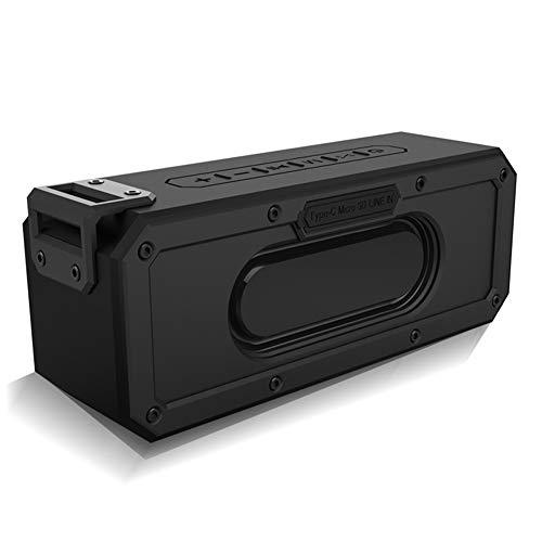 R-SOUNDBAR wasserdichte Tragbare Dsp Bluetooth Sprecher Im Freien,Super Power 40 W Sound-Subwoofer Mit Verbessertem Bass, Eingebautem Mikrofon Und Freisprecheinrichtung