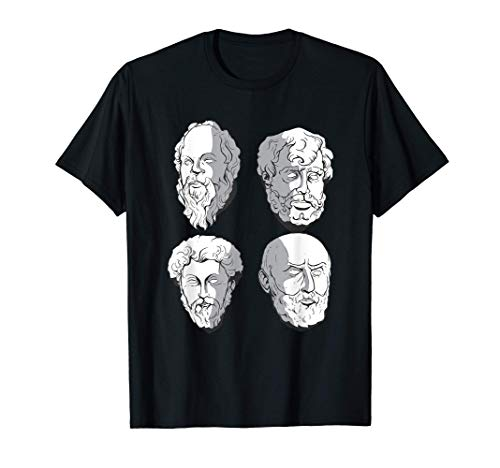 Los antiguos filósofos griegos Camiseta
