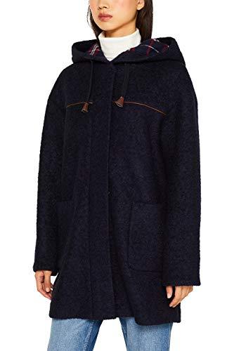 edc by ESPRIT Damen 099Cc1G011 Mantel, Blau (Navy 400), Small (Herstellergröße: S)