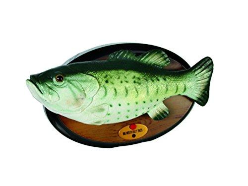 MIK Funshopping Bewegungsmelder BILLY BASS der singende Fisch!