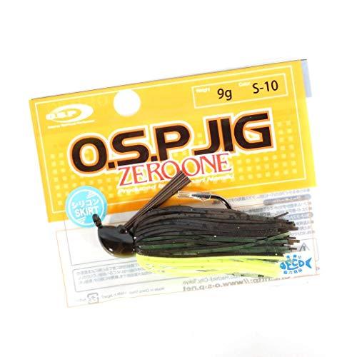 O.S.P(オーエスピー) ルアー JIG 1 11g シリコンスカートモデル S10 グリパンチャート