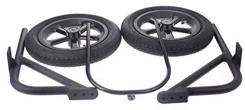 Stützräder Set für Erwachsene Schwarz