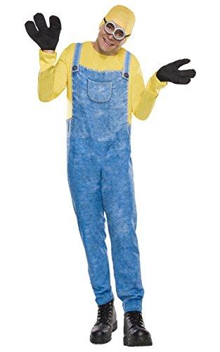 Rubie's Offizielles Minion-Bob-Kostüm für Erwachsene, Standardgröße