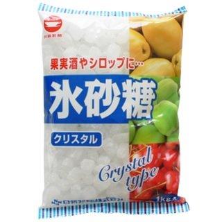 カップ印 日新製糖 氷砂糖 クリスタル 1kg×10袋入