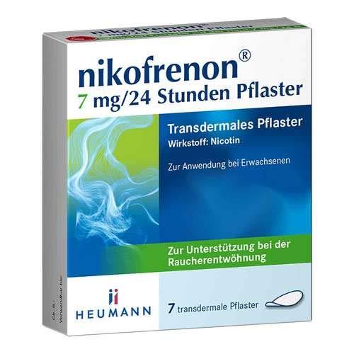 Nikofrenon 7 mg/24 Stunden Pflaster transdermal, 7 St