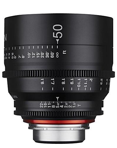 Rokinon Xeen XN50-C 50 mm T1.5 Professional Cine Objektiv für Canon EF schwarz