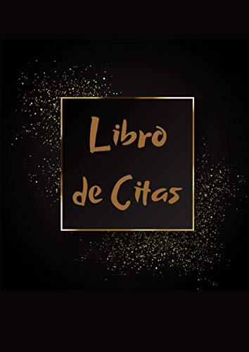 LIBRO DE CITAS: Agenda de Citas para Peluqueria profesional, Planificador de Horario...