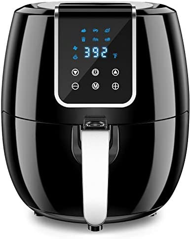 6 in 1 7 Quart Air Fryer 1800 Watt Hot Airfryer Oven with LCD Digital Screen and Temperature product image