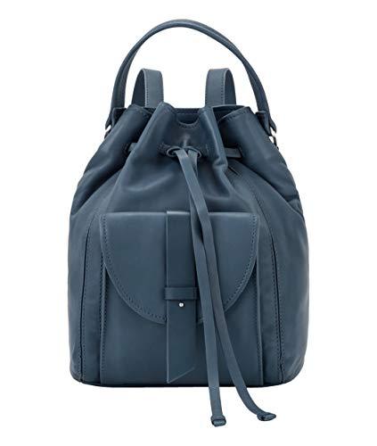 Liebeskind Berlin Rucksackhandtasche Soft Bucket Backpack, Medium, china blue