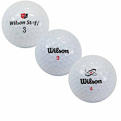 lbc-sports LbcGolf Golf Lakebälle Wilson 100 Mix - AAAA-AAA - weiß - gebrauchte Golfbälle - Lakeballs - Teichbälle