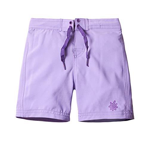 UV SKINZ UPF 50+ Girls' Board Shorts - Purple - 6