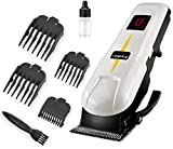CETC KM-809A Professional Rechargeable Cum Electric Hair Clipper Gromming Set For Men, Women