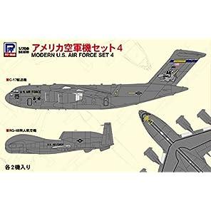 ピットロード 1/700 スカイウェーブシリーズ アメリカ空軍機セット4 プラモデル S58