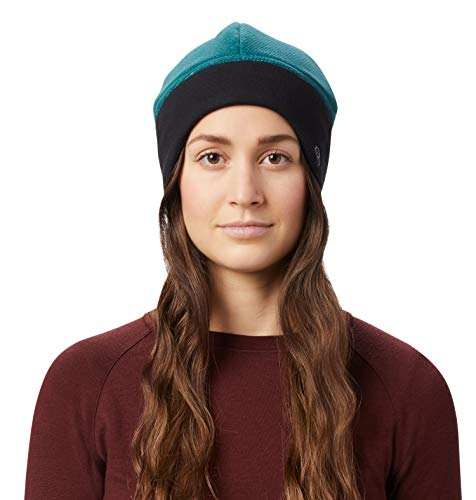 Mountain Hardwear Women's Dome Perignon Hat for Protection from The Cold, Helmet Compatible, Wind Resistant - Dive - X-Small