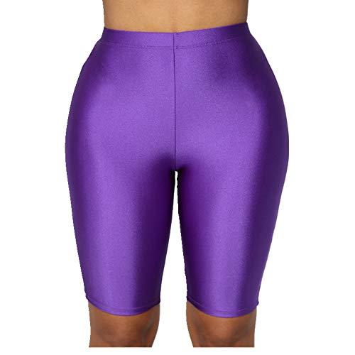N\P Verano de las Señoras Casual Pantalones Cortos Deportivos de las Mujeres Casual Cómodo Pantalones Cortos de