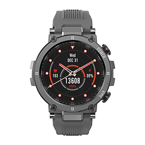 Raptor Smart Watch Bluetooth Strap Watch Smart's Sports Fitness Bracelet Relk Watch para Android,A