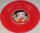 Betty Boop Reusable Plastic 10' Dinner Plates (2 Count)
