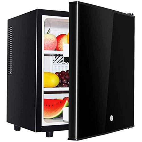 LYGACX Mini refrigerador de Vino, Enfriador de Bebidas Masst/refrigerador de Vino pequeño, Mini refrigerador con congelador Compacto, congelado + refrigerado, Sala de Estar, Mini Bar,B