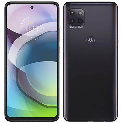 Moto G 5G 2021 (128GB, 6GB) 6.7' Water Repellent, Snapdragon 750, Dual SIM GSM Unlocked Euro 5G Only/Global 4G LTE (T-Mobile, AT&T, Metro) International Model XT2113-3 (Fast Car Charger Bundle, Gray)