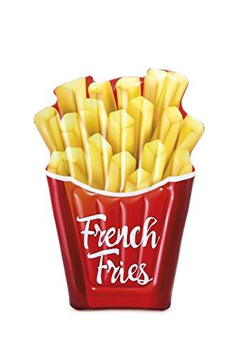 Lively Moments Luftmatratze / Lounge / Schwimmmatratze Pommes Frites / French Fries / Badematratze ca. 175 x 132 cm