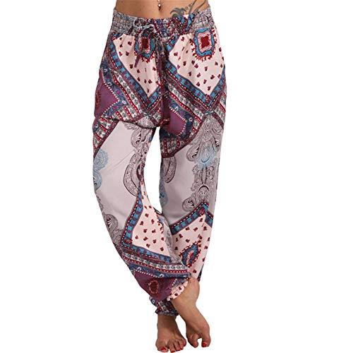 Pantalones HaréN De Primavera Y Verano para Mujer Pantalones De Bolsillo Casuales Pantalones Sueltos