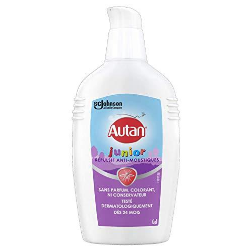 Autan Gel Junior Repelente antimosquitos sin perfume, colorante y conservante