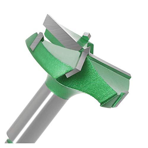 Bits de cortador de fresado Taladro de grado industrial 35-60mm Tres cuchillas Herramientas de carpintería de cuatro dientes Herramientas de la carpintería Bisagra aburrida aburrido Cortador de fresad
