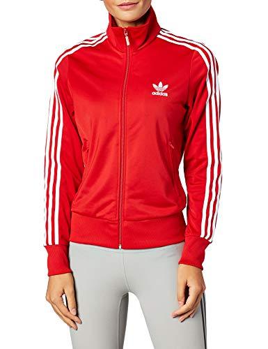 Adidas Damen FIREBIRD TT Sweatshirt,  scarlet, 38 (XS)