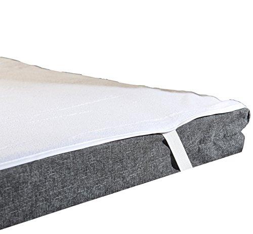 Wilson Gabor Schutzbezug für Matratze: Wasserundurchlässige Matratzen-Auflage, kochfest, 200 x 200 cm (Matratzenauflage atmungsaktiv)