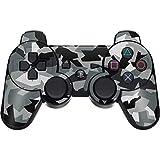 Skinit Decal Gaming Skin for PS3 Dual Shock Wireless Controller - Originally Designed Urban Camouflage Black Design