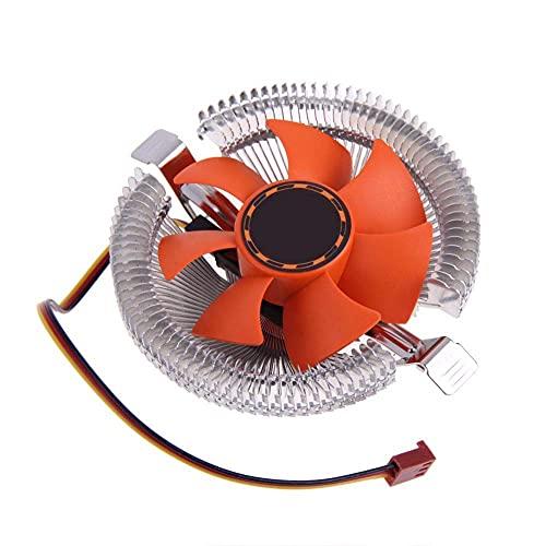 Durable Disipador de Calor del Ventilador de refrigeración del Enfriador de la CPU de la PC para Intel LGA775 1155 AMD AM2 AM3 754 Precio al por Mayor - (Longitud del Cable: Otro) (Color : Other)