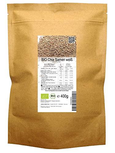 BIO Chia Samen weiß (400 g)