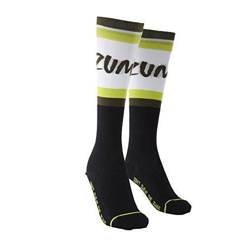 Zumba Fitness Damen Socken, Sew Black, One Size