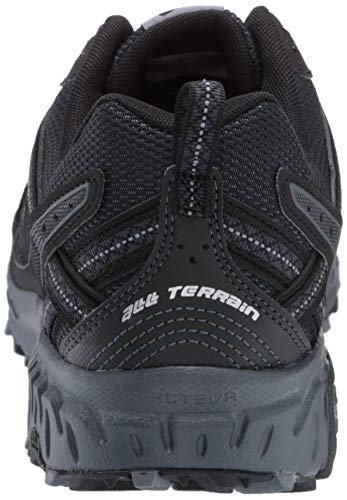 New Balance Men's 410 V5 Trail Running Shoe, Black/Thunder, 10.5 M US