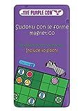 Purple Cow- Sudoku con Le Forme Magnetico Gioco, 7290016026979...