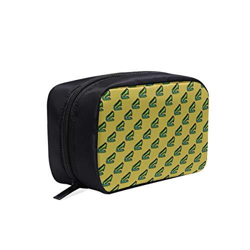 Bolso de aseo de viaje Pequeño colorido de moda Grapadora creativa Bolso...