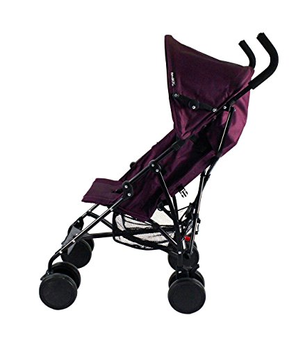 Red Kite Baby Push Me 2U (Plum) Red Kite Baby Suitable from 6 months Includes shopping basket and raincover Lockable front swivel wheels. Up right dimensions is 100 x 45.5 x 82 in cm, Folded Dimensions: 25 x 28 x 111 cm 3