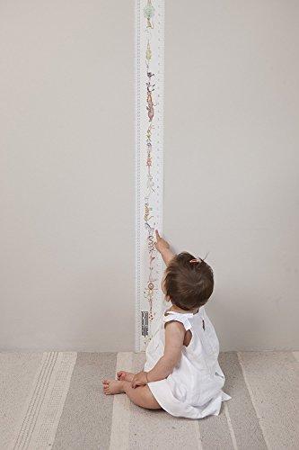 英国製 トールテープ Talltape 壁掛け身長計 200cm レギュラー プラスチック製 TTAbc アルファベット