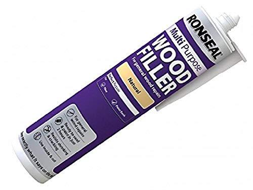 Ronseal MPWFL310 Allzweck-Holzauffüller, 310 ml-Kartusche, naturfarben
