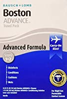 Boston Advance Comfort Formula Travel Pack for Rigid Gas Permeable Contact Lenses by Boston