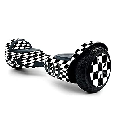 MightySkins Skin for Tomoloo Hoverboard Self Balancing Scooter - Check | Protective, Durable, and Unique Vinyl Decal wrap Cover | Easy to Apply, Remove, and Change Styles | Made in The USA