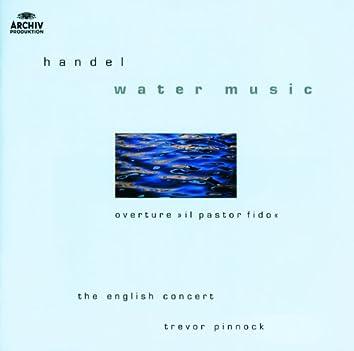 ヘンデル:水上の音楽 他