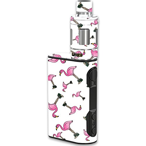 MightySkins Skin Compatible with Eleaf iStick QC Kit – Cool Flamingo | Protective, Durable, and Unique Vinyl Decal wrap Cover | Easy to Apply, Remove, and Change Styles | Made in The USA