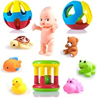 Wishkey New Born Baby Rattle Set