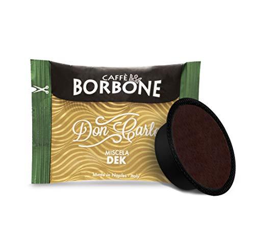 Caffè Borbone Don Carlo, Miscela Decaffeinata, Confezione da 100 Capsule