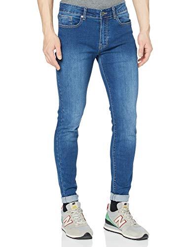 Enzo EZ326, Jeans Skinny Homme Bleu (blue Light Wash) W34/L32 (Taille fabricant: 34 R)