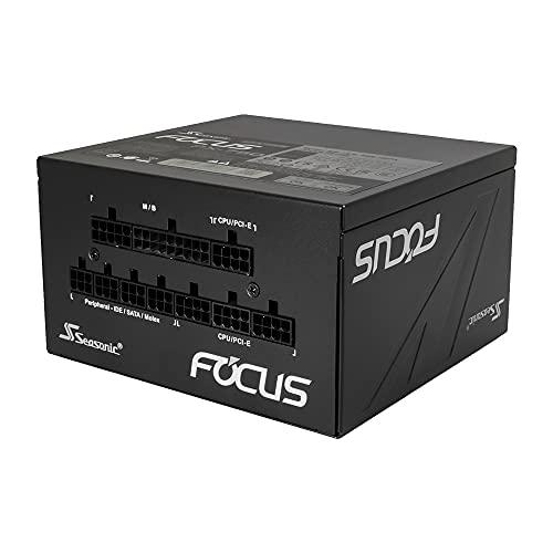 オウルテック Seasonic製 ATX電源 750W 80PLUS Platinum認証 フルモジュラー ハイブリッドファンコントロール 120mm FDBファン搭載 FOCUS PX Sシリーズ 10年間長期交換保証 FOCUS-PX-750S