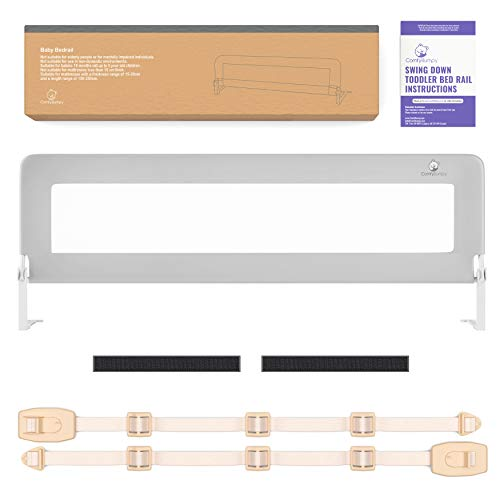 Product Image of the Bed Rail for Toddlers - Extra Long Toddler Bed Rails Guard for Kids Twin,...